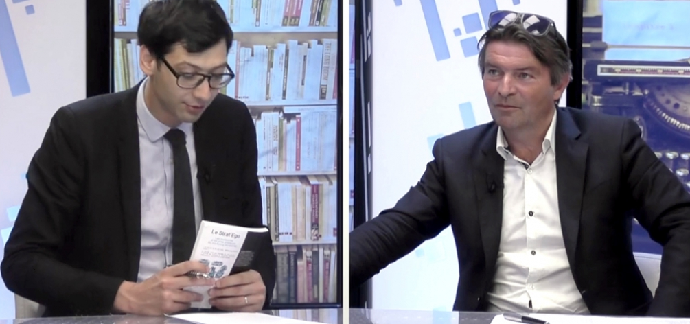 """Xerfi Canal a reçu Yannick Chatelain, professeur associé à Grenoble Ecole de Management, dans le cadre de son livre """"Le Strat'Ego : Les meilleures et les pires pratiques de marketing personnel""""."""