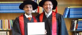 A proud GEM graduate, Dr. Ahmad Anouti